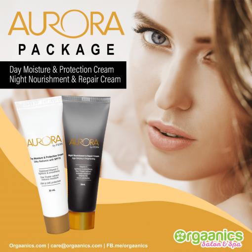 Aurora Day and Night Cream Set