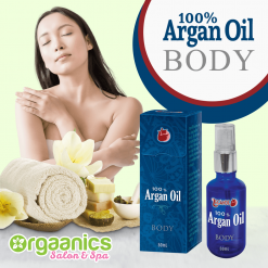 100% Certified Organic Moroccan Argan Oil for the Body