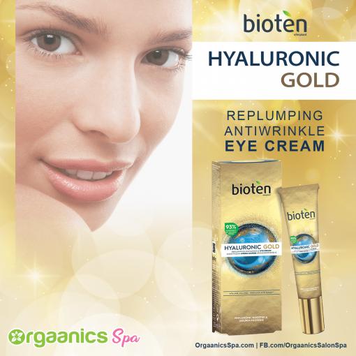 Bioten Hyaluronic Gold Eye Cream