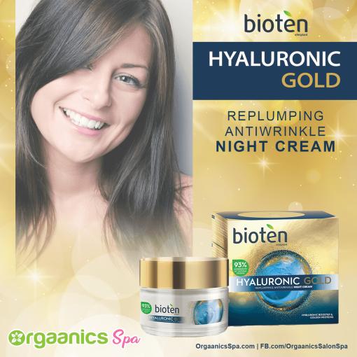 Bioten Hyaluronic Gold Night Cream