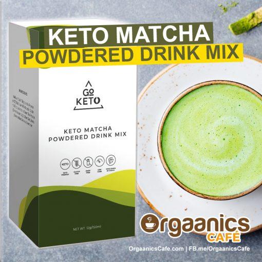 GoKeto Matcha Latte with MCT