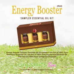 Energy Booster Sampler Essential Oil Kit