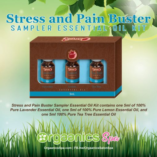 Stress and Pain Buster Sampler Essential Oil Kit